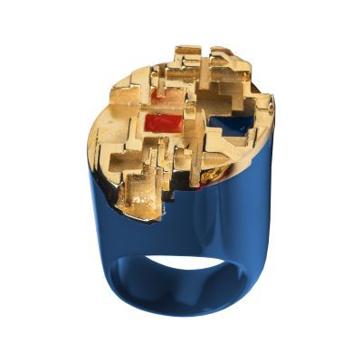 THEO BLUE RING